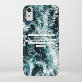 Jeremiah Ocean iPhone Case