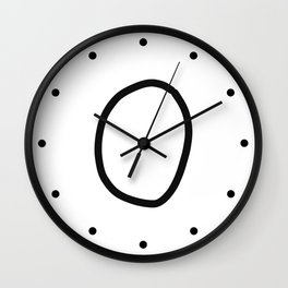 O LOVE Wall Clock