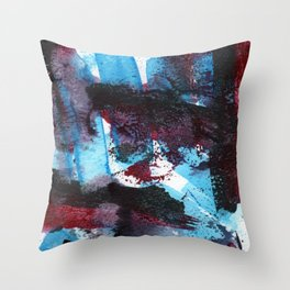 Storm of Emotions Throw Pillow