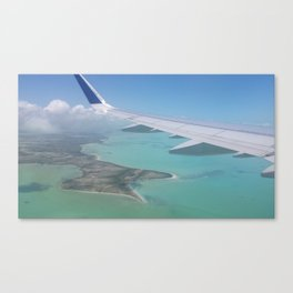 Arriving in Paradise Canvas Print