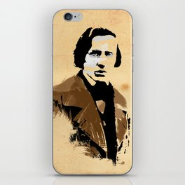 Frederic Chopin - Polish Composer, Pianist iPhone Skin