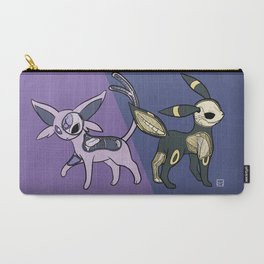 Espeon & Umbreon Anatomy Carry-All Pouch