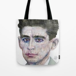 FRANZ KAFKA - watercolor portrait Tote Bag
