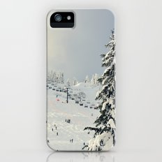 Cold Weather Fun iPhone SE Slim Case