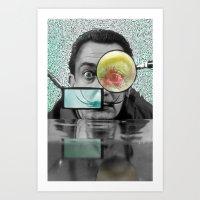 dali Art Prints featuring DALI by Marian - Claudiu Bortan