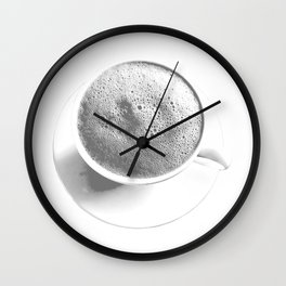 Lunar Brew Wall Clock