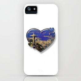 I Love Rio de Janeiro iPhone Case