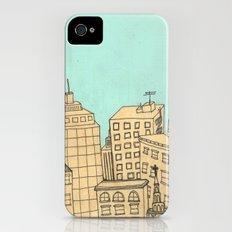 City scape Slim Case iPhone (4, 4s)