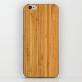 Bamboo pattern iPhone Skin