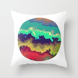 Vivid Planet 11 Throw Pillow