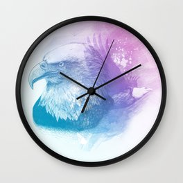 Animal Spirit Eagle Wall Clock