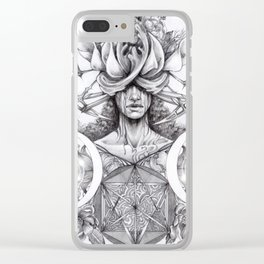 Inner magic Clear iPhone Case