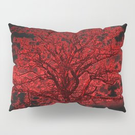Red Tree A182 Pillow Sham