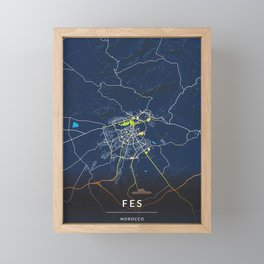 Fes Morocco Framed Mini Art Print