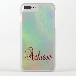 Achieve Clear iPhone Case