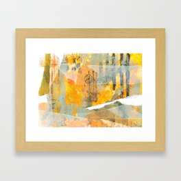 Composition Study No.4 Framed Art Print