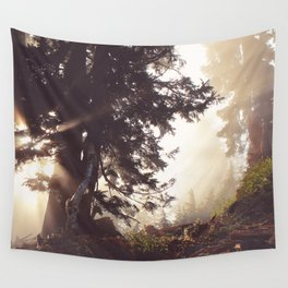 dawn in the day Wall Tapestry