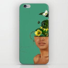 Lady Flowers VII iPhone Skin