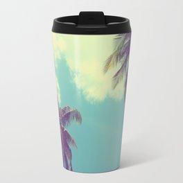 Double Palm Tree Travel Mug