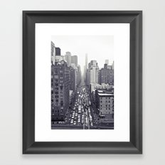 flying over first... Framed Art Print