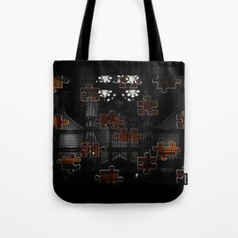 Distracting a Ghost: 1st Rendition  Tote Bag
