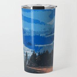 Mountains, Protectors of the Earth Travel Mug