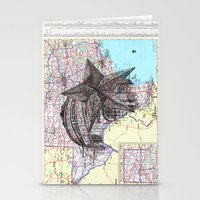 texas Stationery Cards featuring Texas by Ursula Rodgers