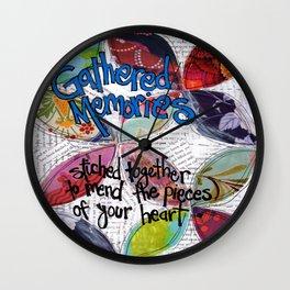 Gathered Memories Wall Clock