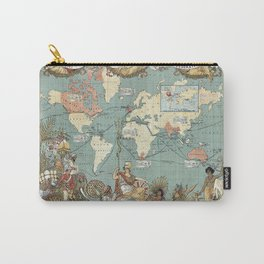 The British Empire 1886 Carry-All Pouch