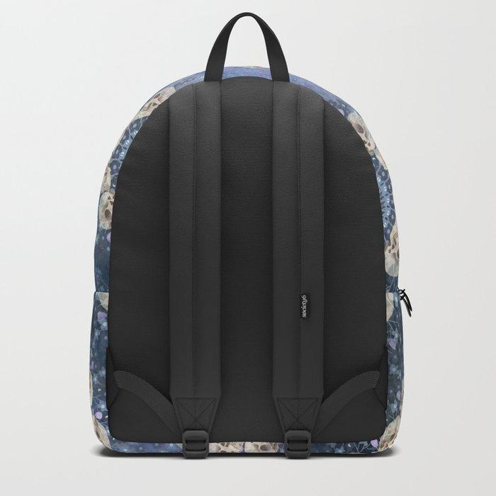 Skull Mandala Pattern Backpack