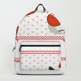 Funny Cat Ugly Christmas Sweater T-Shirt Backpack