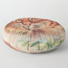 American Wild Cat by A&G Floor Pillow