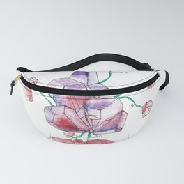 Crystal and Bud Fanny Pack
