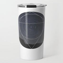 Spinning Universe - Geometric Photography Travel Mug