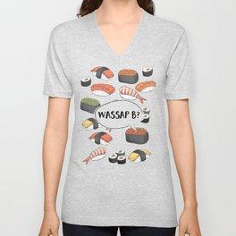 WASSAP B? Unisex V-Neck