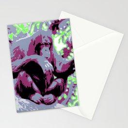 Pop Art Orang Utan Stationery Cards