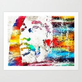 B. Marley Art Print