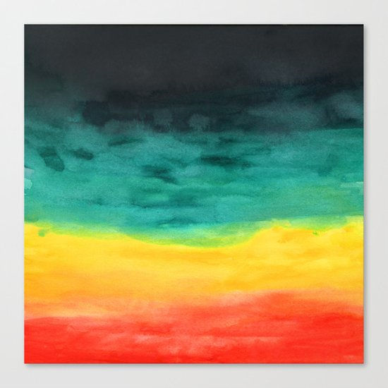 Darkness in the Horizon Canvas Print