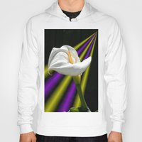 trumpet Hoodies featuring Trumpet Solo by SwanniePhotoArt
