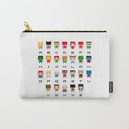 Superhero Alphabet Carry-All Pouch
