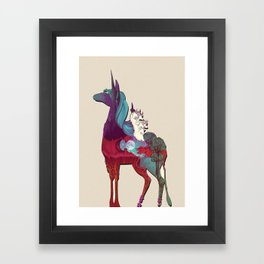 The Last Unicorn Framed Art Print