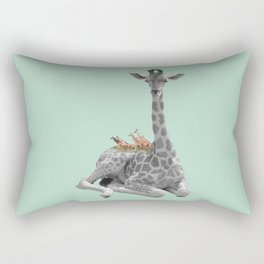 GIRAFFE (animals collection) Rectangular Pillow