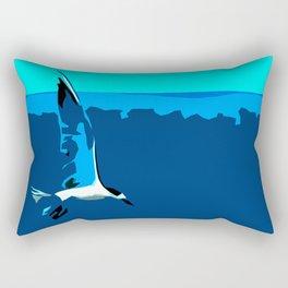 Tropical Tern (Sandwich Tern) - Seychelles Rectangular Pillow