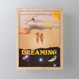 Keep Dreaming Framed Mini Art Print