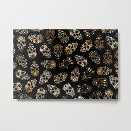 skull family Metal Print