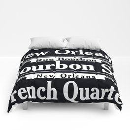 NEW ORLEANS FRENCH QUARTERS Comforters