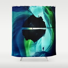 Can`n let you go Shower Curtain