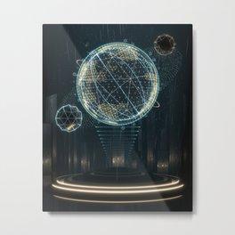 UI //004 Metal Print
