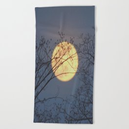 La Luna Beach Towel