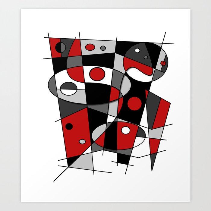 Abstract #42 Art Print